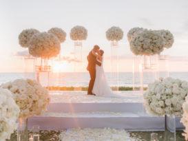 ideas, wedding, thailand, phuket, destination-weddings - Rosa and Dane White Luxe Wedding At Jivana Villas