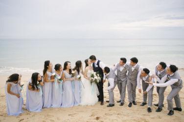 thailand, phuket, global-wedding, featured, destination-weddings - Sharon and Rick's Dreamy Blue and White Wedding in Phuket
