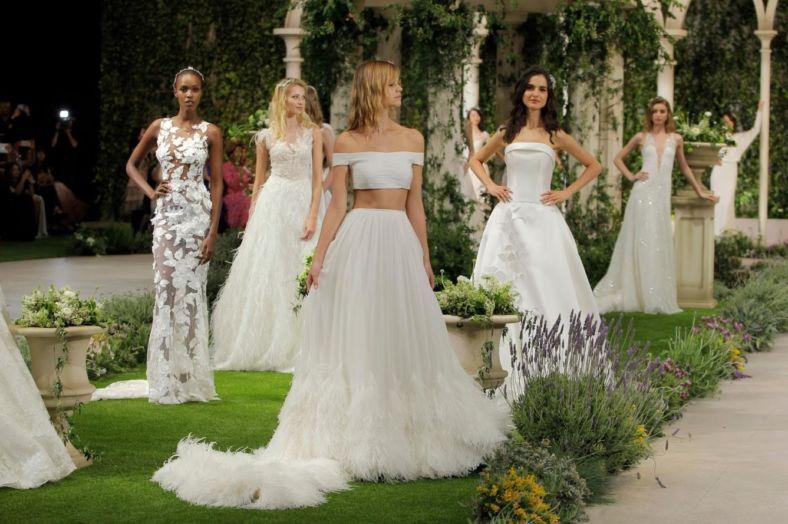wedding-dresses, style-fashion, lookbook, global-wedding, featured - Pronovias' blooming reveal at Barcelona Bridal Week