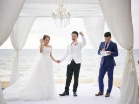 wedding, thailand, phuket, global-wedding, destination-weddings - Angela and Arick's peachy wedding in Sava Villas, Phuket