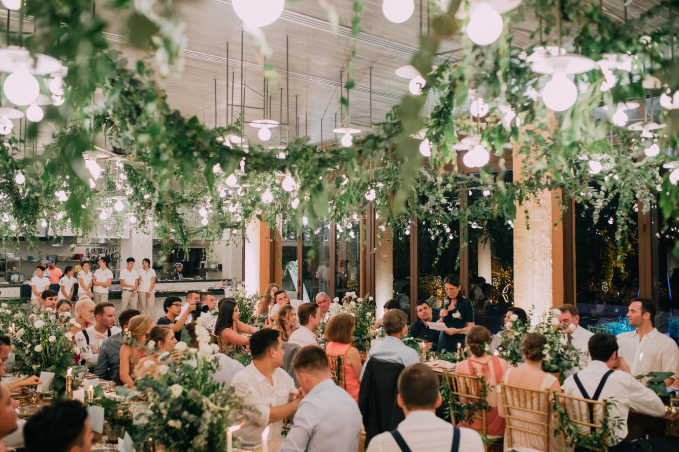 Laney and Mike's organic inspired wedding in Baba Nest, Phuket