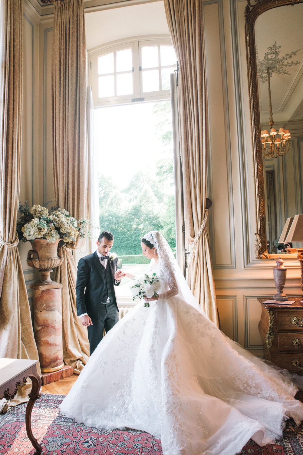 The French fairytale wedding Ben Yew captured