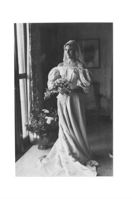 wedding-dresses, wedding, be-inspired - 11th Bride Donned a Special Heirloom Wedding Gown of 120 years. Speak of Vintage!