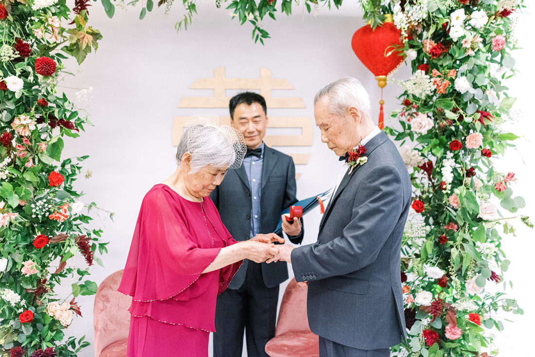 relationships, featured - A Surprise Traditional Chinese Wedding 60 Years in the Making