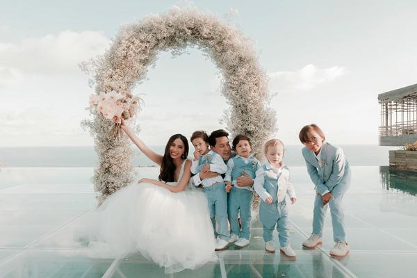 wedding, destination-weddings, celebrity - Martine Cajucom-Ho Fairytale Wedding